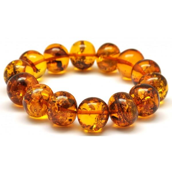 Baltic Amber Bracelet Baroque Beads From Baltics