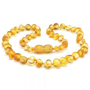baltic amber teething necklace yellow