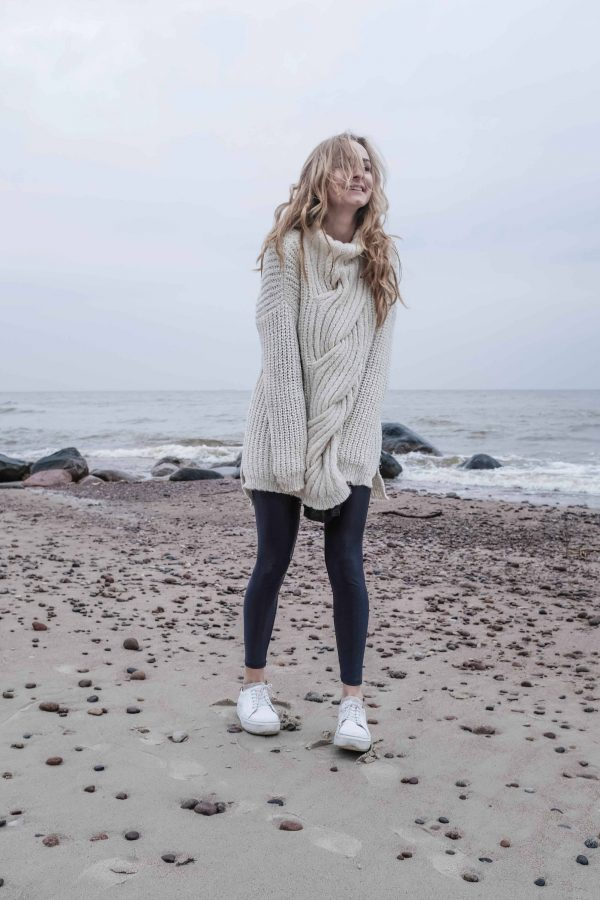 oversized sweater sogno tunic